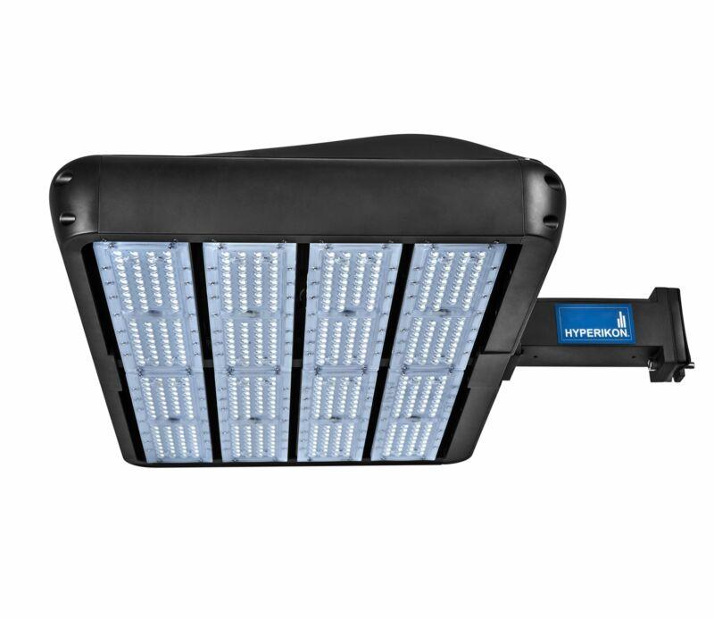 Hyperikon LED Parking Lot Shoebox Pole Street Light Outdoor Area Dusk to Dawn...