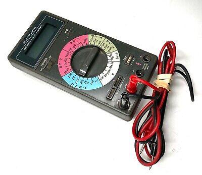 Vintage Micronta 22-194 Digital Multimeter - Transistor Hfe Radio Shack Free Shp