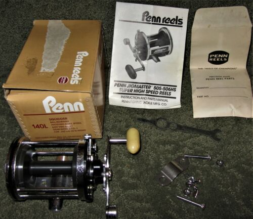 VINTAGE PENN SQUIDDER 140L MADE IN USA NEW IN ORIGINAL BOX