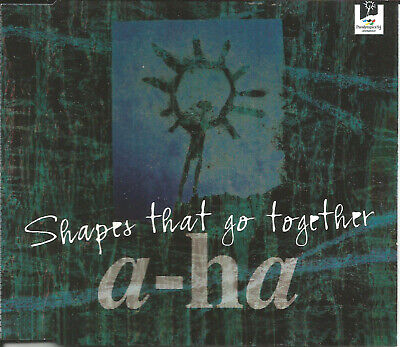 A HA Shapes that go together INSTRUMENTAL & Cold As REMIX CD single SEALED aha