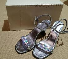 Ladies silver heels size 38 Murrumba Downs Pine Rivers Area Preview