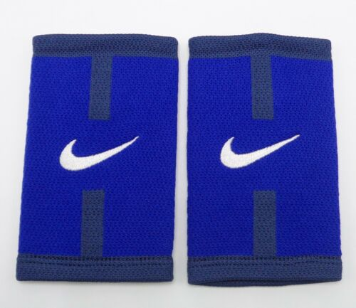 Nike Stealth Doublewide Wristbands Court Logo Deep Royal/Obsidian/White