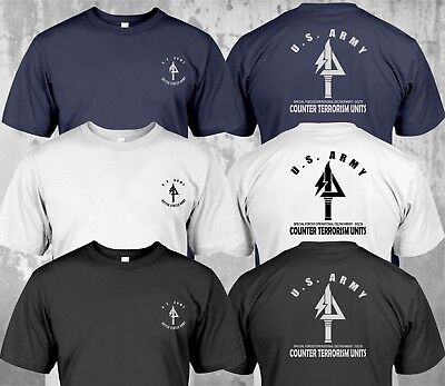 New Delta Force US Army Special Force Navy Seals T-shirt