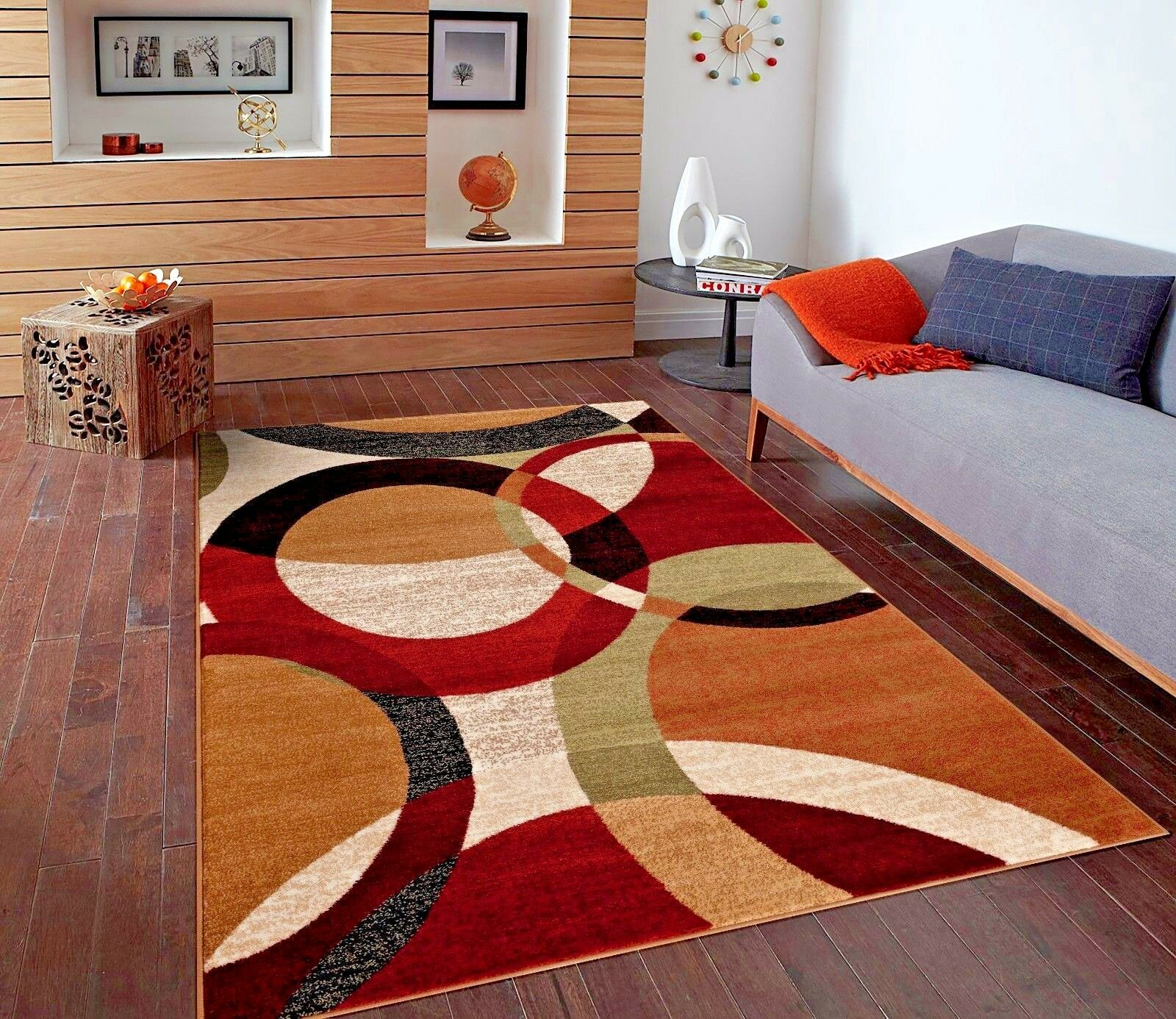 Rugs area rugs 5x7 area rug carpets modern large nice cool - Carpets for living room online india ...