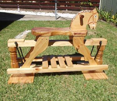 Rocking Horse (Hand-made from timber) Nambucca Heads Nambucca Area Preview