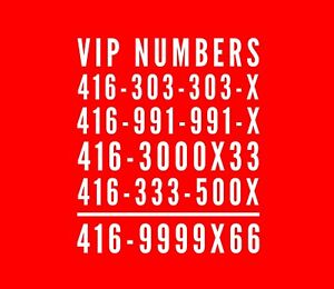 Easy To Remember CellPhone Numbers