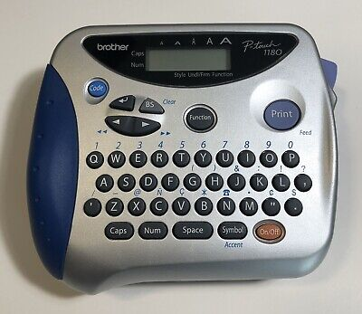 Brother Pt-1180 P-touch Label Maker Printer Works Great