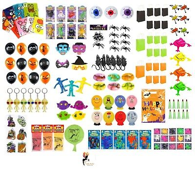 HALLOWEEN PARTY BAG FILLERS Favour Bag Pinata Toy Filler Kids Trick or Treat ](Halloween Party Bag Fillers)