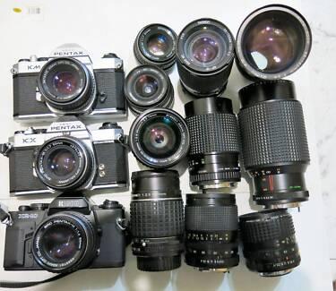 Pentax KM,KX Cameras & Lens, Adapters for Sony E, lumix,M4/3...