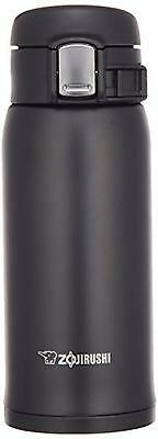 ZOJIRUSHI Straight Drink Stainless Mug 0.36L SM-SA36-BA Black lightweight type