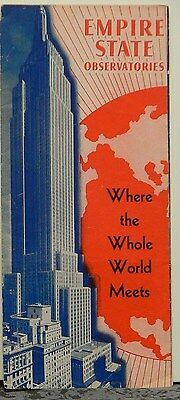 1940 Visitors Guide to Empire State Building Observtories