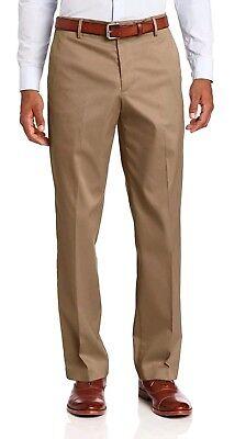 Dockers Mens The Best Pressed Signature Khaki Pants Classic Fit Flat Front