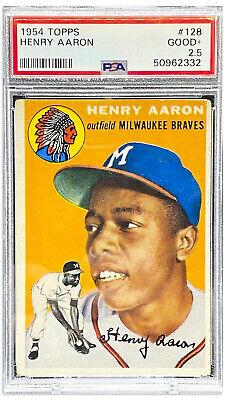 1954 Topps Hank Aaron #128 PSA 2.5