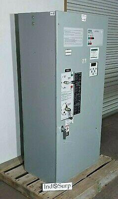 Asco 260 Amp Automatic Transfer Switch 208120 Volt 3 Phase 60 Hz