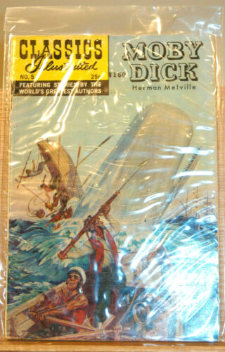 Classics Illustrated #5 Moby Dick by Herman Melville (1969)