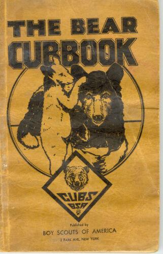 "1943 Cub Scouts ""The Bear Cubbook"""