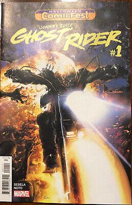 Johnny Blaze Ghost Rider #1 Halloween Comicfest  NM/Mint 2019 Unread Marvel