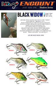 PAYO-Black-Widow-Fishing-Lure-Vibration-17-gr-Free-shipping