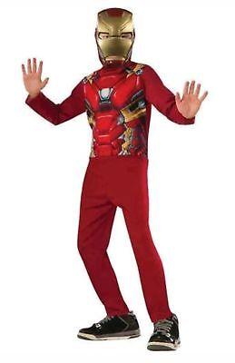 Rubie's Captain America Civil War IRON MAN Boys' Costume Size Large (10-12) New (Ironman Captain America Suit)