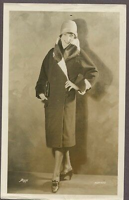 PAULINE STARKE Sexy Glamorous Flapper Girl Fashion 1927 PHOTO Art Deco Baby Doll