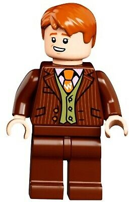 NEW LEGO George Weasely Minifigure 75978 Harry Potter Diagon Alley
