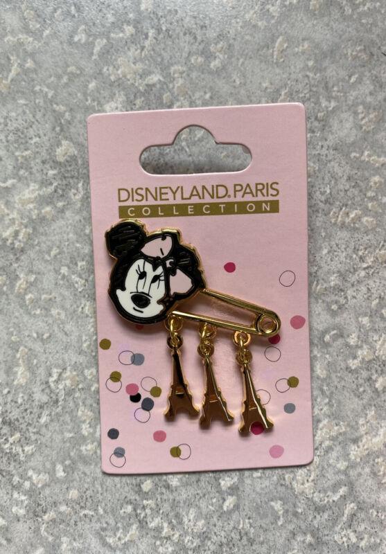 DLRP DLP Disney Paris Eiffel Tower Dangle Fashion Collection Minnie Mouse Pin