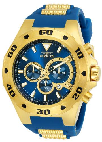 New Invicta Men's 24681 Pro Diver Quartz Multifunction Blue