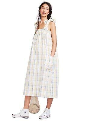 Hatch Maternity Women's THE ALEXIA DRESS Sunflower Cotton Size 3 (LRG/12) NEW