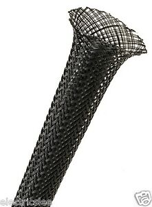 1-meter-Techflex-PTN0-25BK-1-4-034-Flexo-PET-sleeving-Black