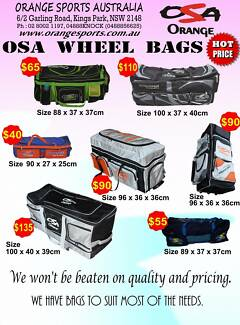 BRAND NEW Wheelie CRICKET Kit Bags FROM $40 Warehouse Sale Kings Park Blacktown Area Preview