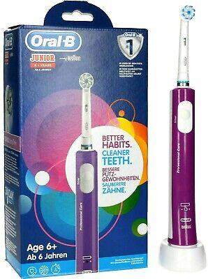 Oral-B Junior Eléctrico Cepillo de Dientes Lila Rosa D16.513.1