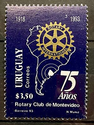 URUGUAY - 75 YEARS MONTEVIDEO ROTARY CLUB - MNH STAMP