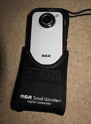 RCA Small Wonder EZ205 Digital Camcorder - White / Burgundy for sale  Oviedo
