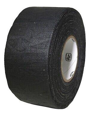 T.r.u. Black Cotton Friction Tape Non-corrosive Rubber Adhesive. 34 X 60 Ft.