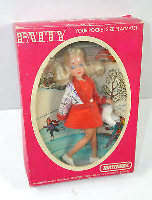 LP-5 Skater Schlittschuh Puppe MATCHBOX K29 PATTY pocket size playmate