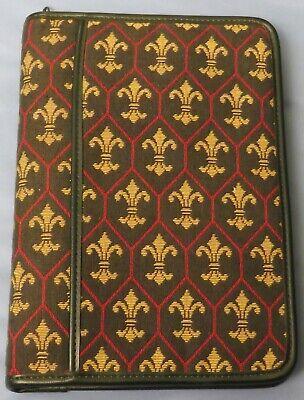Rolfs Fleur De Lis Royalty Tapestry Classic Zip 3 -1 18 Ring Planner Franklin