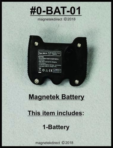 Magnetek Rechargeable Battery Pack remote control Flex EX Transmitters 0-BAT-01