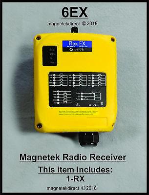 Magnetek Flex 6ex Receiver Unit For Overhead Crane Hoist Radio Remote Control