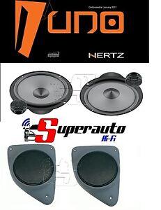 Hertz-LINEA-UNO-K165-Kit-Altoparlanti-2-vie-165-mm-supporti-casse-FIAT-Ducato
