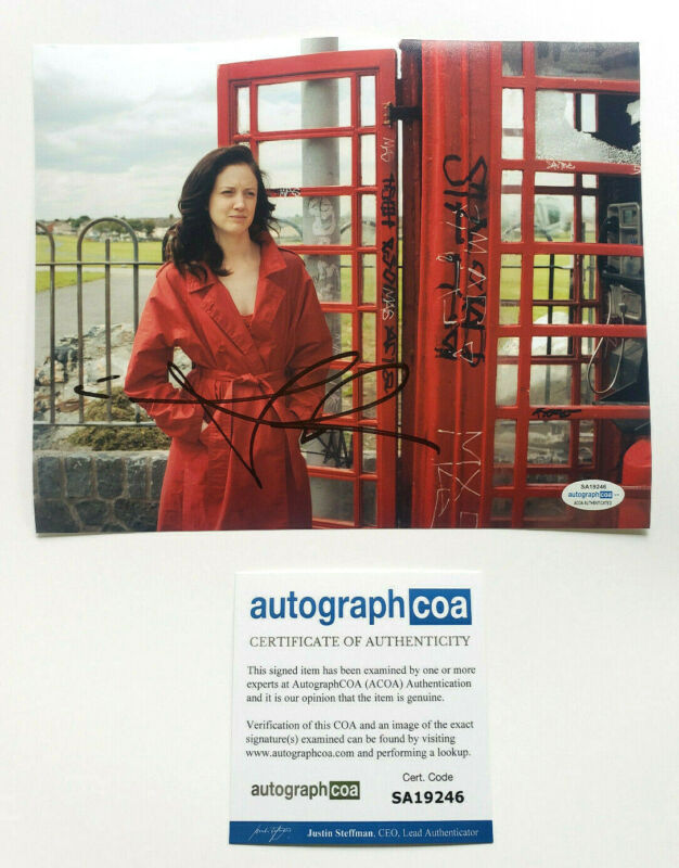 Andrea Riseborough Signed Autographed 'Shadow Dancer' 8x10 Photo EXACT Proof COA