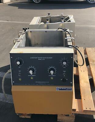 New Brunswick Scientific Gyrotory Laboratory Heated Water Bath Shaker G76 G-76