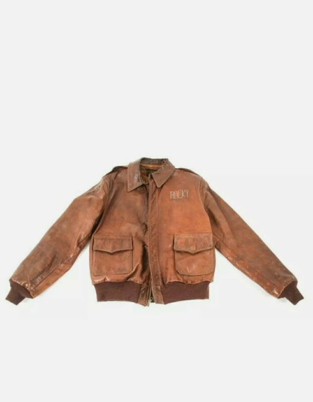 WWII US Army Air Corps Named A-2 Flight Jacket