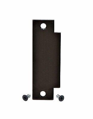 Door Filler Plate | Cylindrical Lock Latch Prep | 1 1/4 x 4 7/8