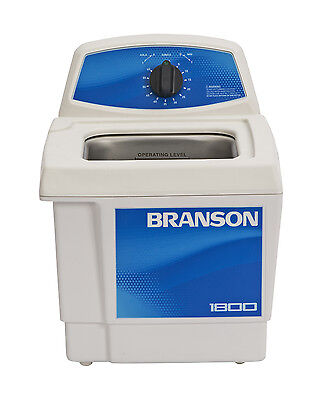 Ultrasonic Cleaner Branson M1800 Mechanical Timer 60 Min .5 Gal Cpx-952-116
