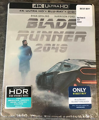 Blade Runner 2049 (4K Ultra HD /Blu-ray/DIGITAL) Best Buy SteelBook