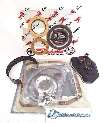 The BEST Ford 4R70W AODE Transmission Banner Plus VALUE HD Rebuild Kit
