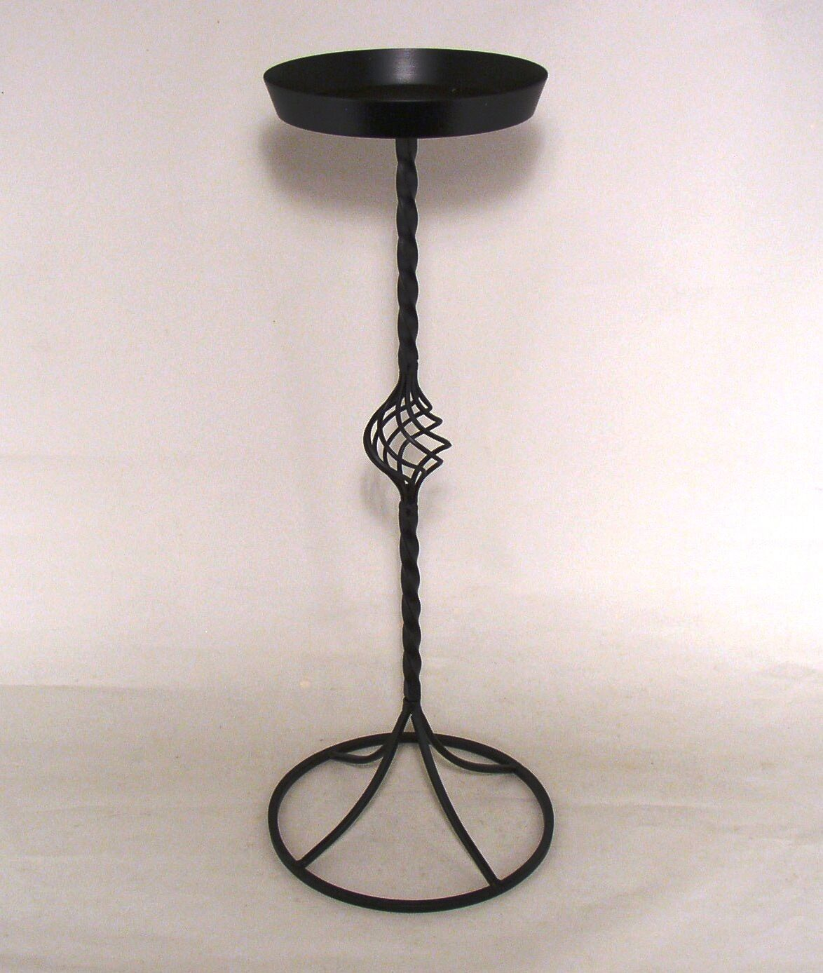 Plant Flower Stand Wrought Iron Black Indoor Pot Silk Fresh