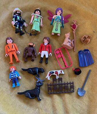Playmobil Figures Bundle Including Fairy