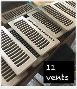 11 almost new vents