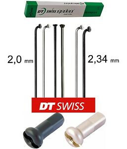 4-x-DT-Swiss-Champion-168-mm-2-0-2-34-mm-Recto-Pull-curva-de-J-negro-plata